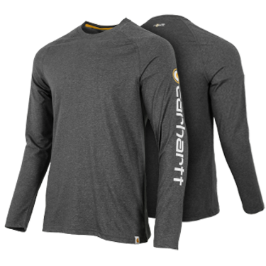 Carhartt Force Cotton Delmont Long Sleeve Graphic T-shirt