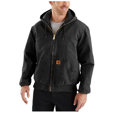 Carhartt Quilted Flannel Sandstone Active Jac