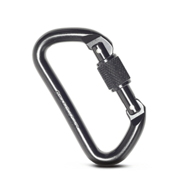Stansport Aluminum D-Locking Carabiner