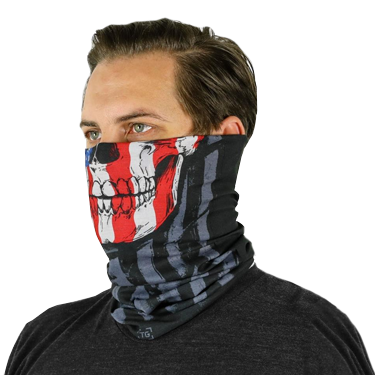 TG Patriot Skull Neck Gaiter