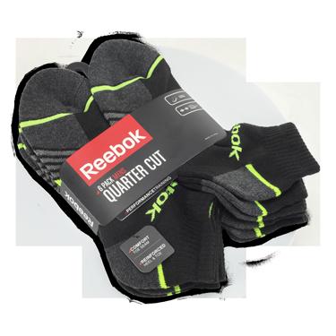 Reebok Socks - 6 pack
