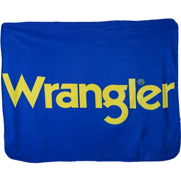 Wrangler Fleece Blanket