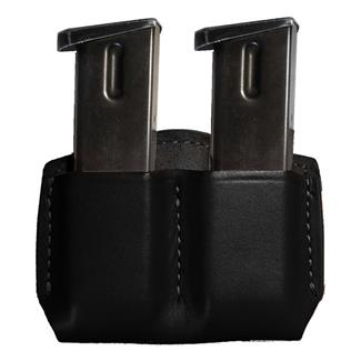 Gould & Goodrich Double Open Top Mag Case Black