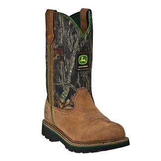 "John Deere 10"" Wellington Leather Mossy Oak"