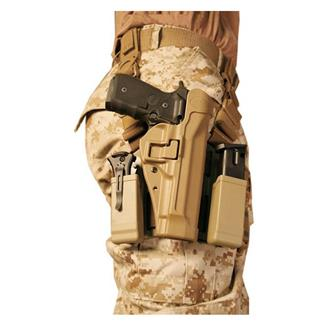 Blackhawk SERPA Level 2 USMC Tactical Holster Coyote Tan Matte