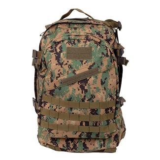 5ive Star Gear GI Spec 3-Day Military Backpack Woodland Digital
