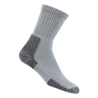Thorlos Thick Cushion Hiking Crew Socks Gray