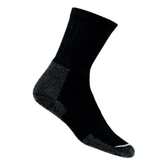 Thorlos Thick Cushion Hiking Crew Socks Black