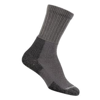 Thorlos Thick Cushion Hiking Crew Socks Pewter