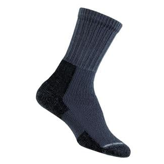 Thorlos Thick Cushion Hiking Crew Socks Slate Blue