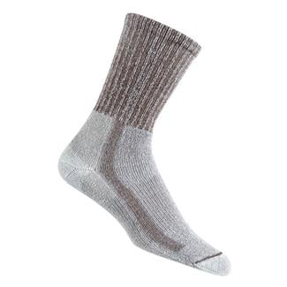 Thorlos Light Hiking Crew Socks Walnut / Heather