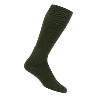 Thorlos Military Combat Boot Socks Olive