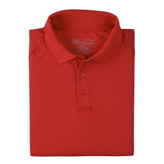 5.11 Performance Polos Range Red