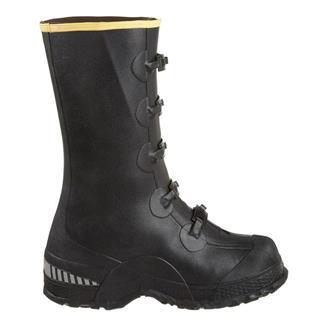 "LaCrosse 14"" ZXT Buckle Deep Heel Overshoe WP Black"