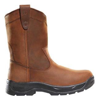 """LaCrosse 11"""" Quad Comfort Wellington ST Brown"""