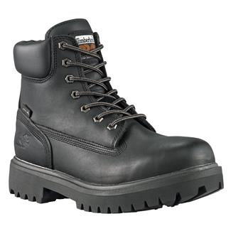 """Timberland PRO 6"""" Direct Attach WP Black Smooth"""