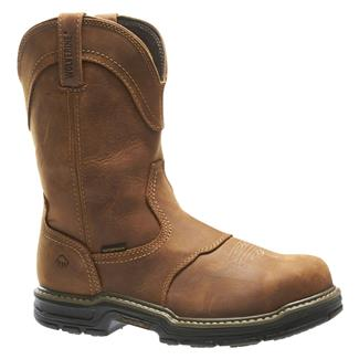 "Wolverine 10"" Anthem Wellington ST WP Brown"