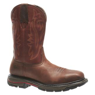 "Wolverine 10"" Javelina Wellington ST Dark Brown / Ox Blood"