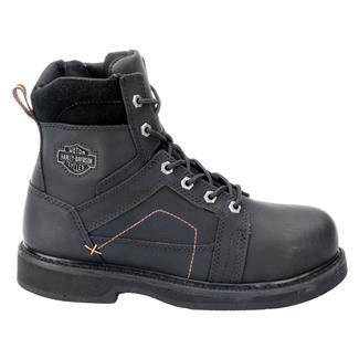 """Harley Davidson Footwear 6"""" Pete ST Black"""