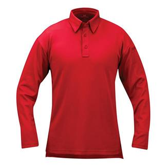 Propper Long Sleeve ICE Performance Polos Red