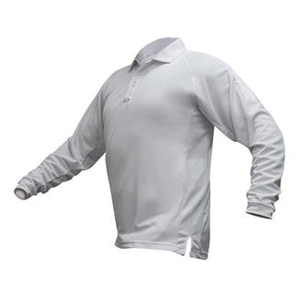 Vertx Coldblack Long Sleeve Polo White