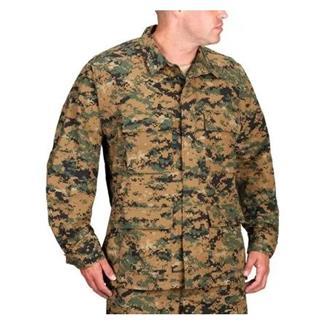 Propper Uniform Poly / Cotton Ripstop BDU Coats Digital Woodland