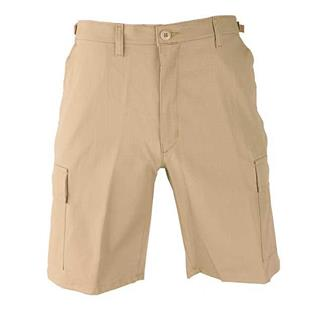 Propper Poly / Cotton Ripstop BDU Shorts (Zip Fly) Khaki