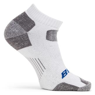 Bates Tactical Uniform Low Cut Socks - 1 Pair White