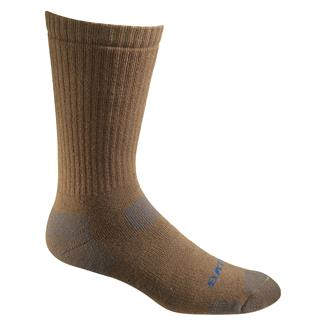 Bates Tactical Uniform Mid Calf Socks - 1 Pair Coyote Brown