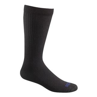 Bates Thermal Uniform Mid Calf Socks - 1 Pair Black