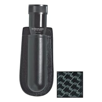 Gould & Goodrich K-Force Open Top Flashlight Case Black Basket Weave