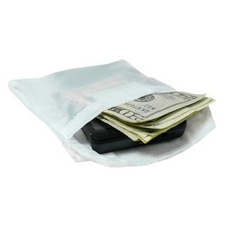 Ridge Packin' Tee Wallet / Passport Accessory Pouch White