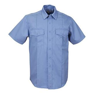 5.11 Short Sleeve Class A Station Shirts Fire Med Blue