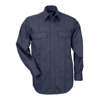 5.11 Long Sleeve Class A Station Shirts Fire Navy