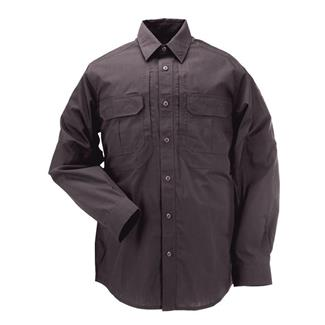 5.11 Long Sleeve Taclite Pro Shirts Charcoal