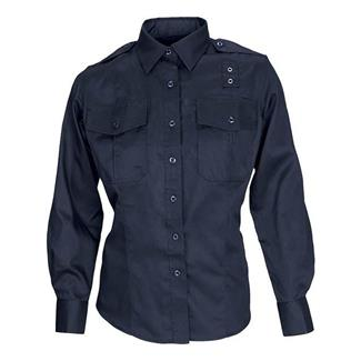 5.11 Long Sleeve Twill PDU Class A Shirts Midnight Navy