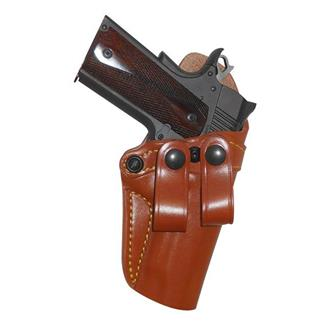 Gould & Goodrich Gold Line Inside Trouser Holster Chestnut Brown