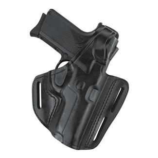Gould & Goodrich Gold Line Three Slot Pancake Holster Black
