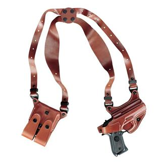 Gould & Goodrich Gold Line Shoulder Holster Chestnut Brown