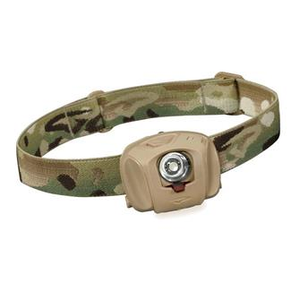 Princeton Tec EOS Tactical Headlamp MultiCam Red / Blue / Green