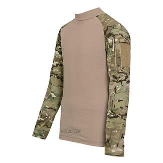 TRU-SPEC Nylon / Cotton Ripstop Combat Shirts MultiCam / Coyote