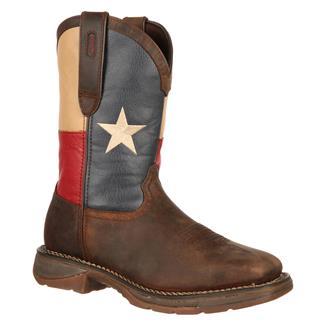Durango Rebel Flag ST Dark Brown / Texas Flag