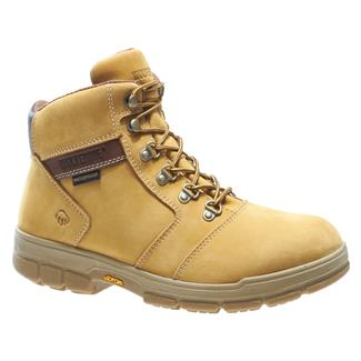 "Wolverine 6"" Barkley WP 400G Gold Nubuck"