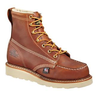"Thorogood 6"" American Heritage Moc Toe Brown"