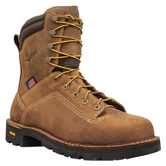 "Danner 8"" Quarry USA Distressed GTX AT Brown"