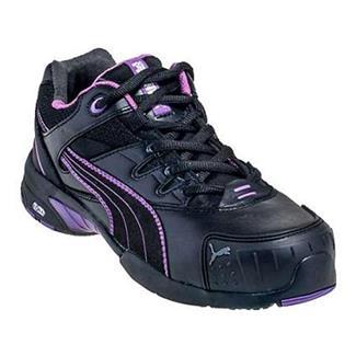 Puma Safety Stepper Low ST Black / Pink