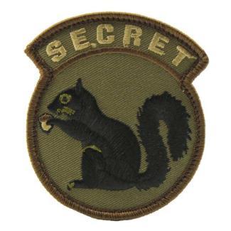 Mil-Spec Monkey Secret Squirrel Patch Forest