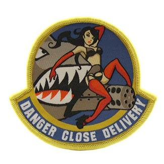 Mil-Spec Monkey Danger Close Patch Full/Color