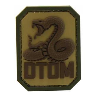 Mil-Spec Monkey DTOM PVC Patch MultiCam