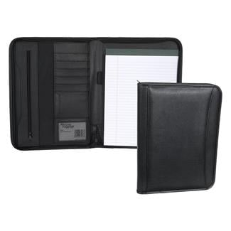 Mercury Tactical Gear Zippered Padfolio Black